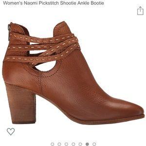 Frye Naomi Pickstitch Shootie Ankle Bootie whiskey